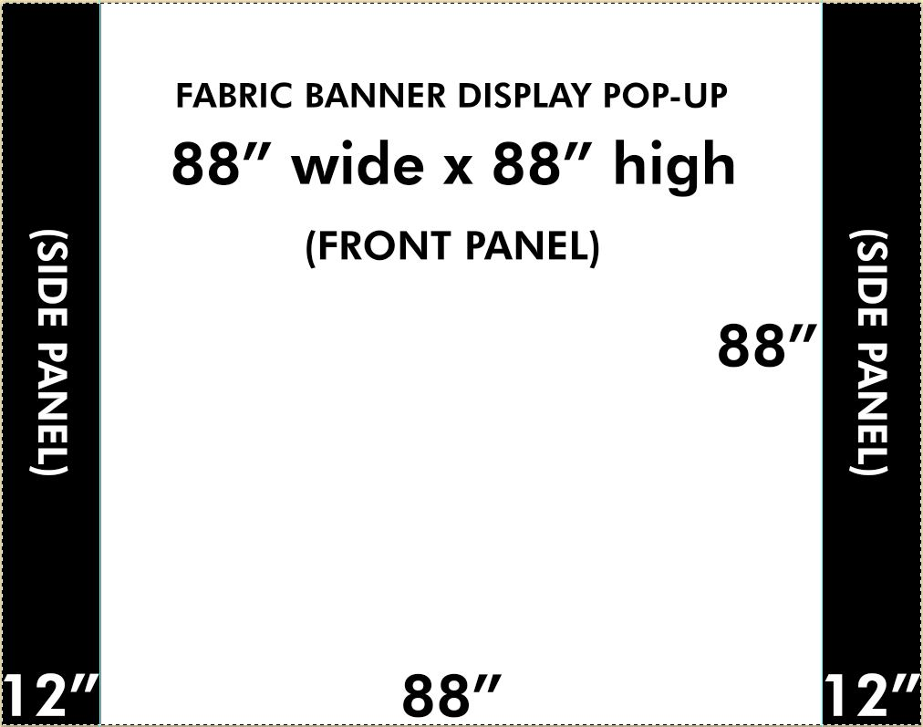 Image result for Pop up backdrop size